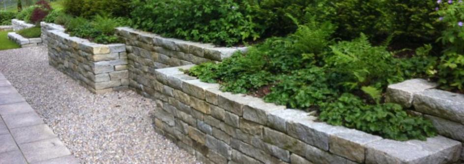 Gartenmauern und Sichtschutz von Steiner-Hürlimann Gartenbau
