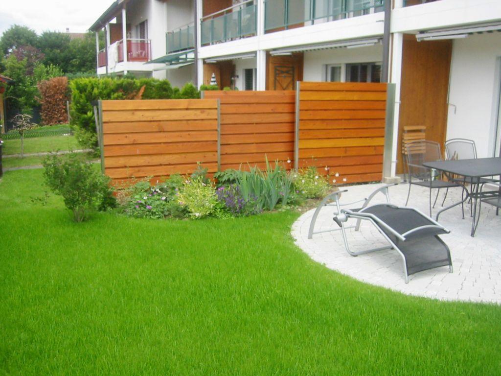 Sichtschutz im Garten on Pinterest