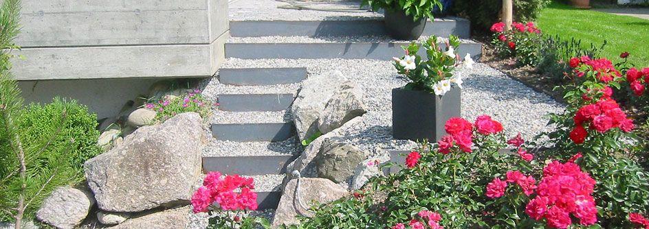 Mauern und Treppen